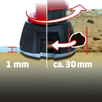 Einhell Schmutz- und Klarwasserpumpe GE-DP 7330 LL ECO Korngröße