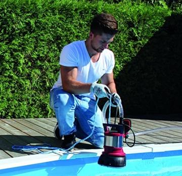 Einhell Schmutz- und Klarwasserpumpe GE-DP 7330 LL ECO zum Pool leerpumpen