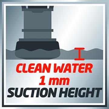Einhell Schmutz- und Klarwasserpumpe GE-DP 7330 LL ECO Ansaughöhe