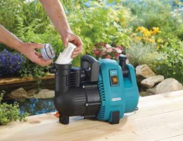 Gardena 1732-20 Comfort Gartenpumpe 4000/5 Filter reinigen