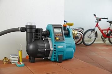 GARDENA Comfort Hauswasserautomat 5000/5E LCD - im Haus aufgestellt