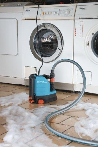 GARDENA Comfort Tauchpumpe 9000 aquasensor in der Anwendung