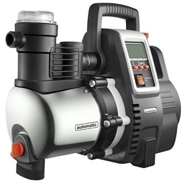 Seitenansicht GARDENA Premium Hauswasserautomat 6000/6E