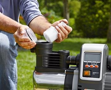 GARDENA Premium Hauswasserautomat 6000/6E Filterwechsel