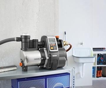 GARDENA Premium Hauswasserautomat 6000/6E im Haus angewendet
