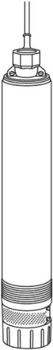 GARDENA Premium Tiefbrunnenpumpe 5500/5 inox technische Darstellung