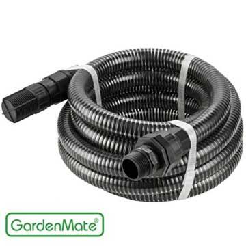 GardenMate® 4m Ansaugschlauch Ø 1 Zoll