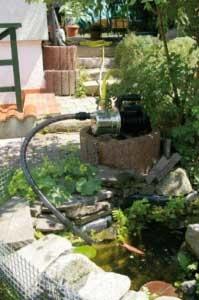 Gartenpumpe selbstansaugend