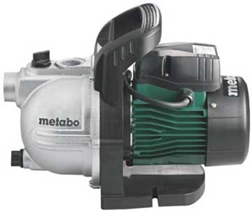 Metabo Gartenpumpe P 6000 Inox Wasserpumpe|Saugpumpe|Auspumpen|klares Wasser
